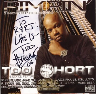 Too Short - Pimpin' Incorporated