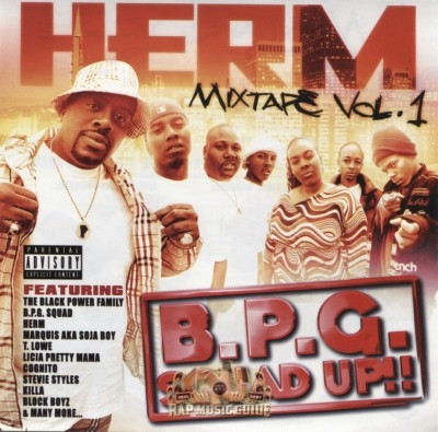 Herm - B.P.G. Squad Up! Mixtape Vol. 1