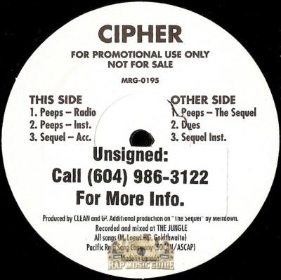 Cipher - Peeps