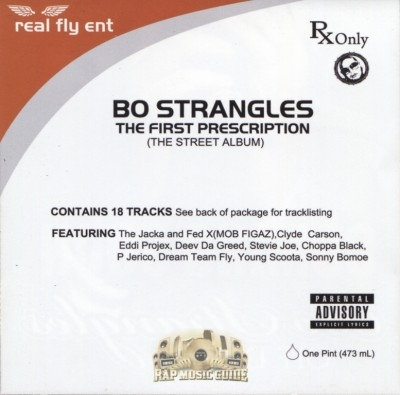 Bo Strangles - The First Prescription (The Street Album)