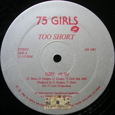 Too Short - Girl / Shortrapp