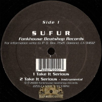 Sufur - Take It Serious