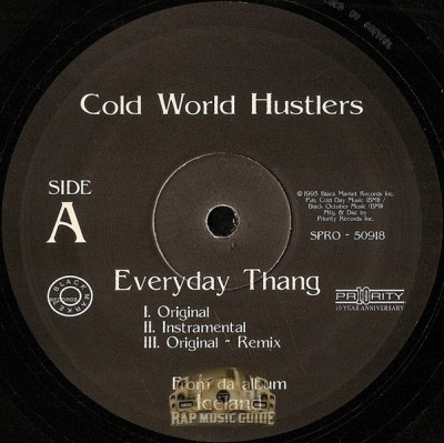 Cold World Hustlers - Everyday Thang