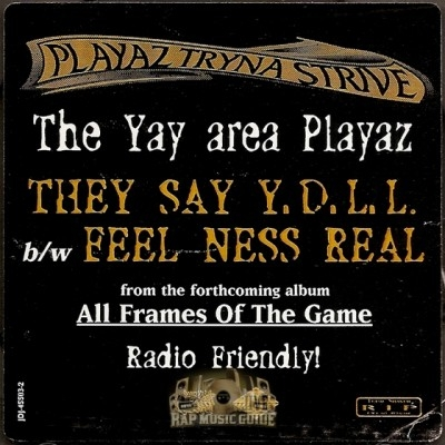 Playaz Tryna Strive - They Say Y.D.L.L. / Feel Ness Real
