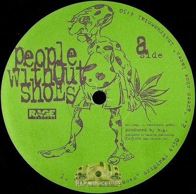 People Without Shoes - Green Shoe Laces
