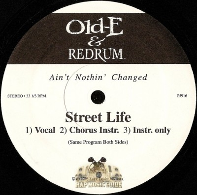 Old-E & Redrum - Street Life