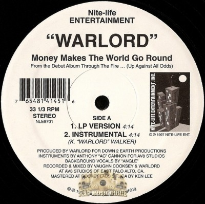 Warlord - Money Makes The World Go Round