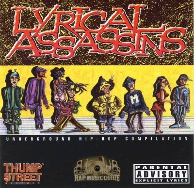 Lyrical Assassins - Underground Hip-Hop Compilation