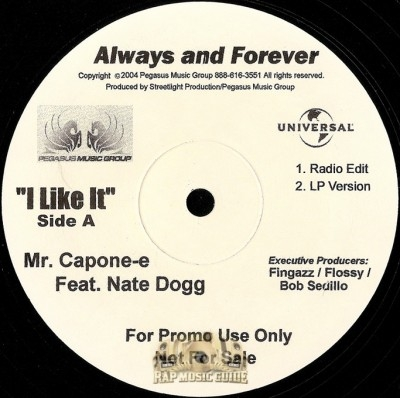 Mr. Capone-E - I Like It