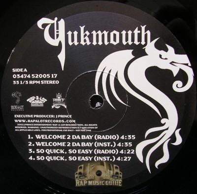 Yukmouth - Welcome 2 Da Bay