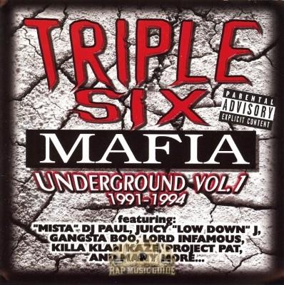 Triple 6 Mafia - Underground Vol. 1