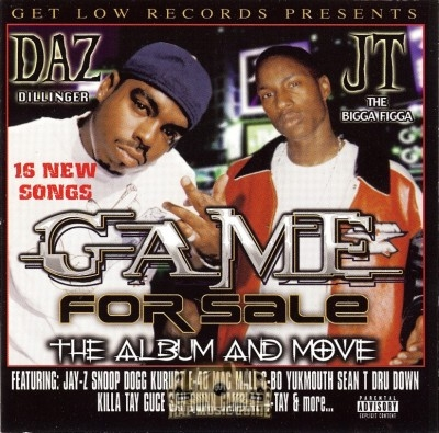 Daz Dillinger & JT The Bigga Figga - Game For Sale