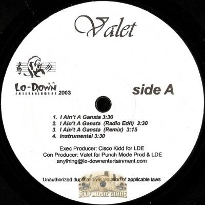 Valet - I Ain't A Gangsta