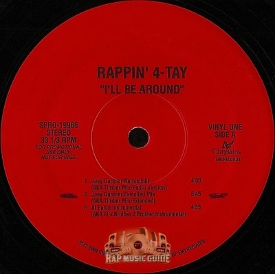 Rappin' 4-Tay - I'll Be Around (Special Promo)