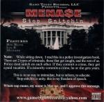 Mena$e - Stop Snitchin