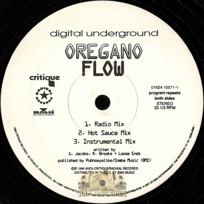 Digital Underground - Organo Flow