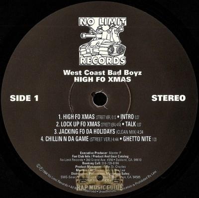 West Coast Bad Boyz - High Fo Xmas