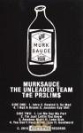 Murksauce - The PR3L!M$