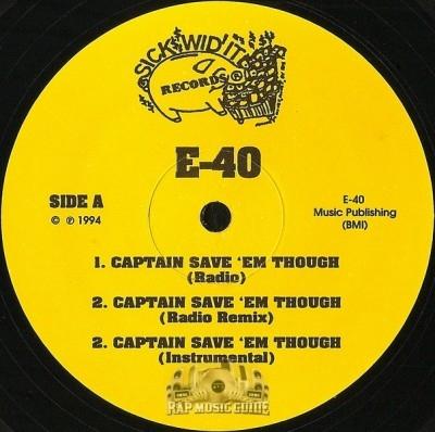 E-40 - Captain Save 'Em Though