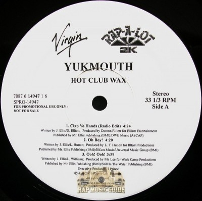 Yukmouth - Thug Lord: The New Testament EP