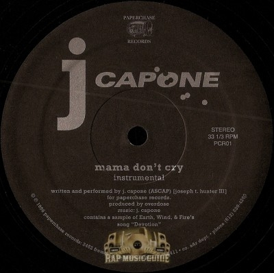 J. Capone - Mama Don't Cry