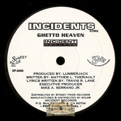 Incidents - Ghetto Heaven / West Coast