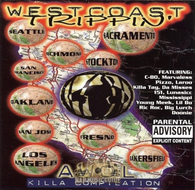 Westcoast Trippin' - Awol Killa Compilation