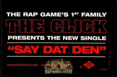 The Click - Say Dat Den