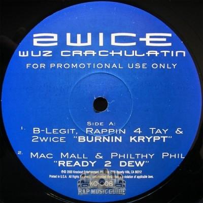 2Wice - Wuz Crackulatin EP