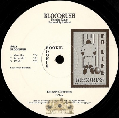 Bookie - Bloodrush