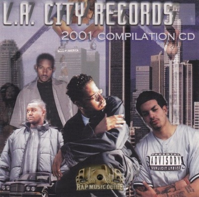 L.A. City Records - 2001 Compilation CD