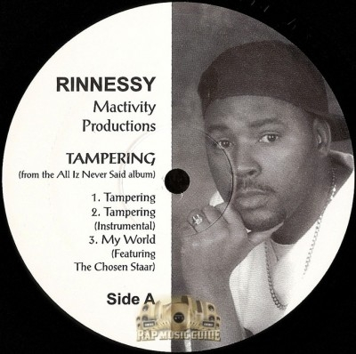 Rinnessy - Tampering / Get In Touch With Me