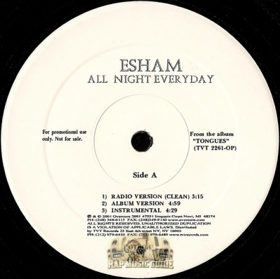 Esham - All Night Everyday