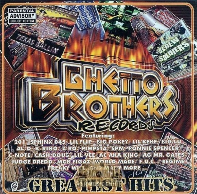 Ghetto Brothers Records - Greatest Hits