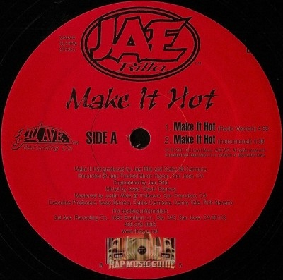 Jae Rilla - Make It Hot