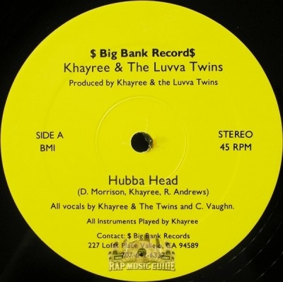 Khayree & The Luvva Twins - Hubba Head