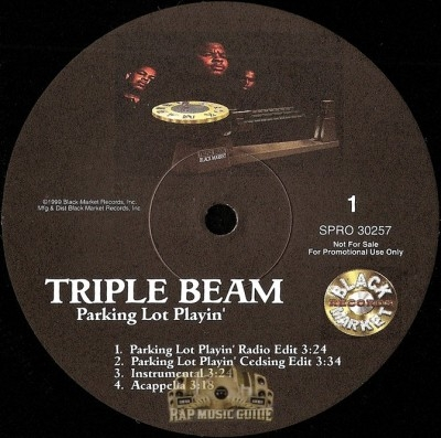 Triple Beam - Parking Lot Playin'