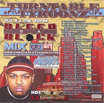 Turntable Tykoons - Bleed Da Block Mixtape