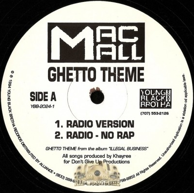 Mac Mall - Ghetto Theme