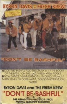 Byron Davis And The Fresh Krew - Don't Be Bashful