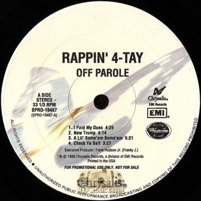 Rappin' 4-Tay - Off Parole - Clean Version
