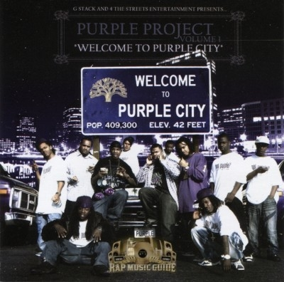 Welcome To Purple City - Purple Project Vol. 1