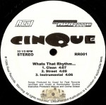 Cinque - Whats That Rhythm / Everybody-Nobody