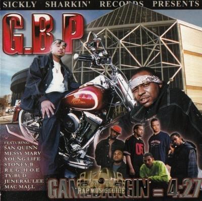 G.B.P. - Gamebangin' = 4:27
