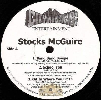 Stocks McGuire - Bang Bang Boogie