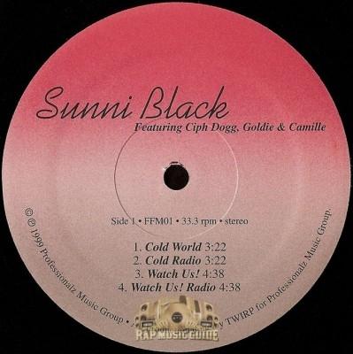Sunni Black - Cold World / Watch Us! / Blood In My Veins