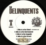 Delinquents - Holla At Ya Boy