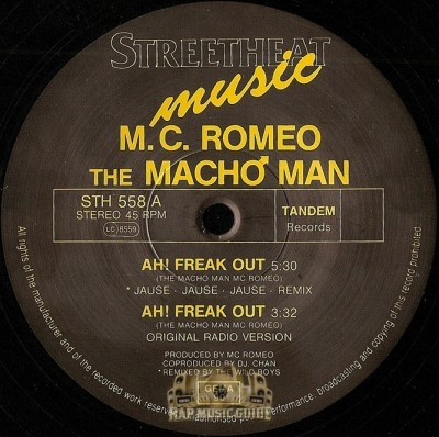MC Romeo - Ah Freak Out