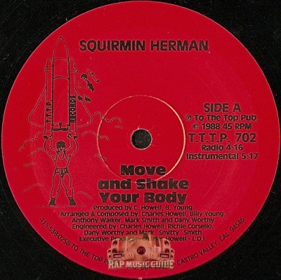 Squirmin Herman - Move and Shake Your Body