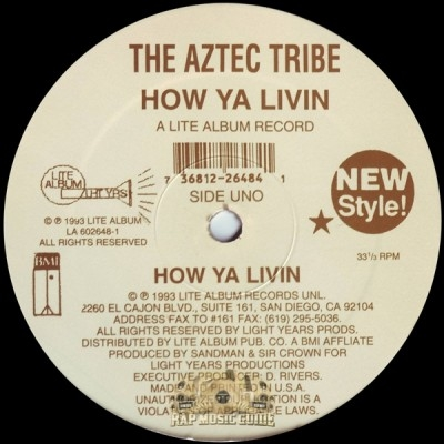 Aztec Tribe - How Ya Livin